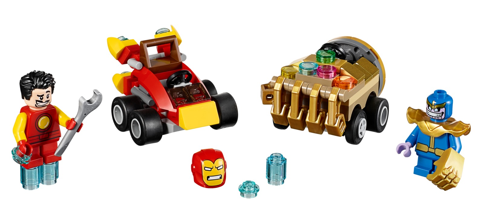 LEGO Super Heroes: Mighty Micros - Iron Man vs. Thanos (76072) image