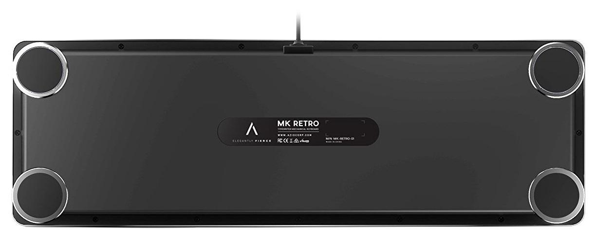 AZIO MK RETRO Typewriter Inspired Mechanical Keyboard image