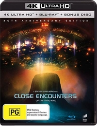 Close Encounters of the Third Kind - 40th Anniversary + Bonus Disc (4K UHD + Blu-ray) on UHD Blu-ray