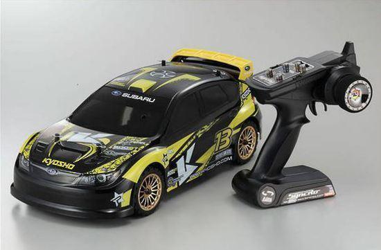 Kyosho EP FAZER VE-X 2007 Subaru Impreza RC 1/10 Car Readyset