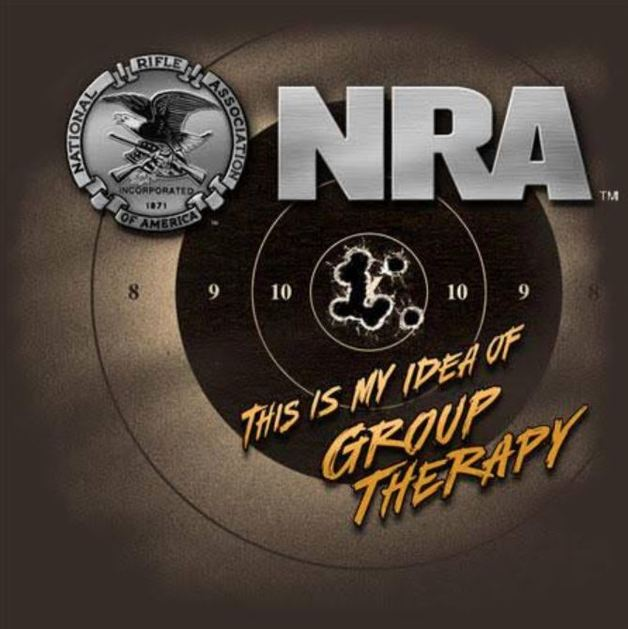 Buck Wear NRA - This Is My Idea T-Shirt (Medium)