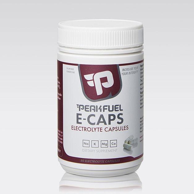 PeakFuel E-Caps Electrolyte Capsules (80 Caps)