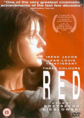 Three Colours Red on DVD