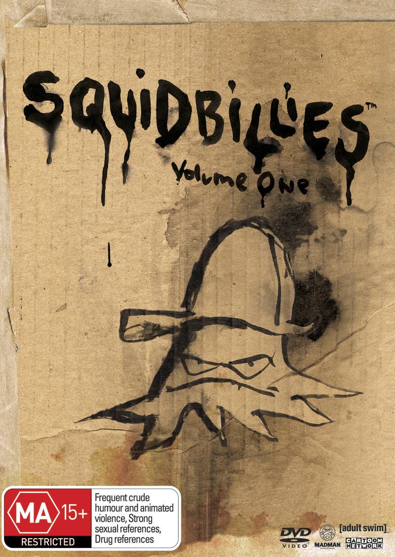 Squidbillies: Volume 1 on DVD image