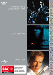 Terminator 2 - Judgement Day / Total Recall / True Lies - 3 DVD Collection (3 Disc Set) on DVD