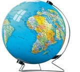 Maps and Charts - World Globe Puzzleball 540pc