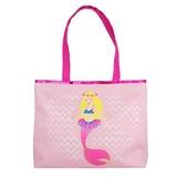 Pink Poppy Summer Mermaid Beach Bag - Pale Pink