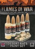 Flames of War: Desert Rats - Paint Set