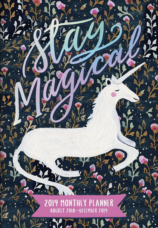 Magical 17 Month 2019 Pocket Diary