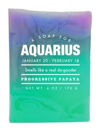 Whiskey River Co: Astrology Soap - Aquarius