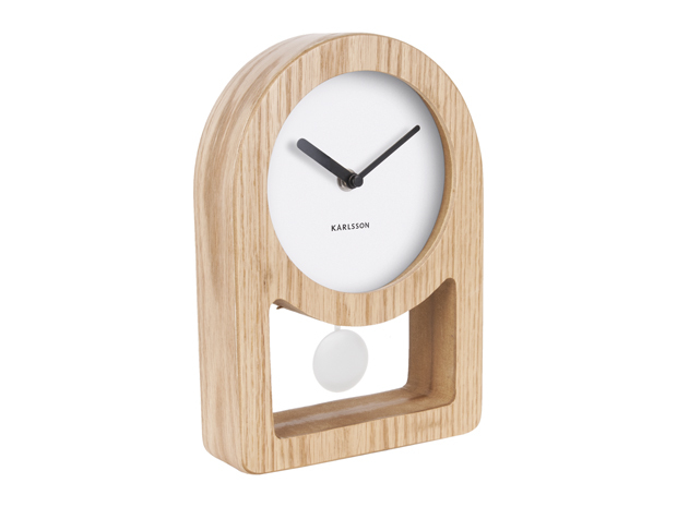 Karlsson Lena Clock - White
