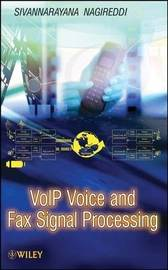 VoIP Voice and Fax Signal Processing by Sivannarayana Nagireddi image