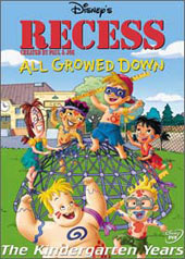 Recess - All Growed Down on DVD