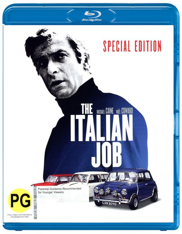 The Italian Job on Blu-ray