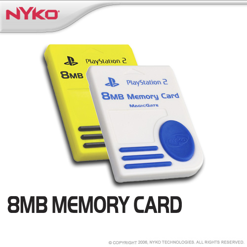 Nyko 8 MB Sony Licensed Memory Card for PlayStation 2 image