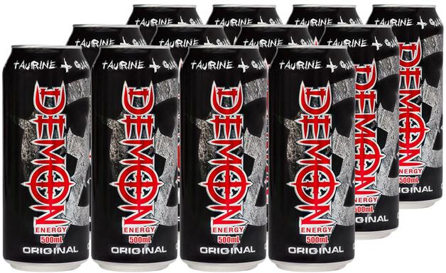 Demon Energy Original Can 500ml 12 Pack