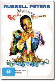 Russell Peters - Red, White and Brown on DVD image
