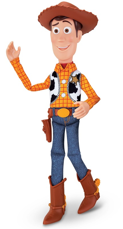 """Toy Story 4: Sheriff Woody - 16"""" Deluxe Talking Figure"""