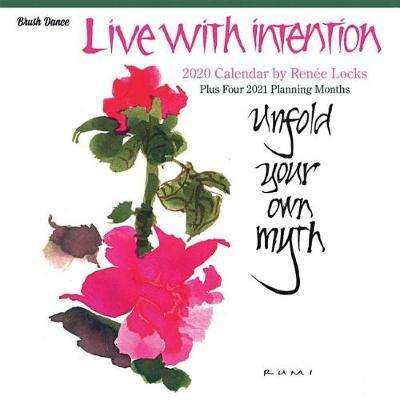 Live with Intention 2020 Square Brush Dance Wall Calendar