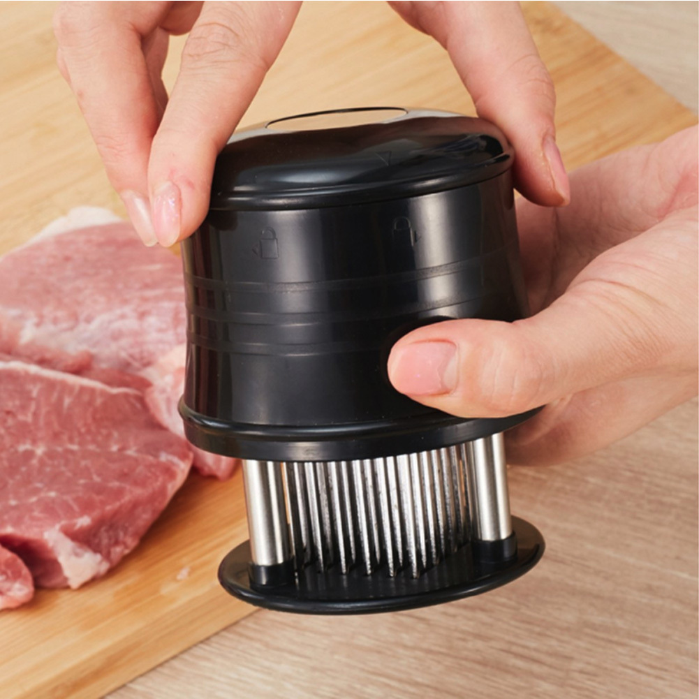 Ape Basics: Needle Blade Stainless Steel Meat Tenderizer image