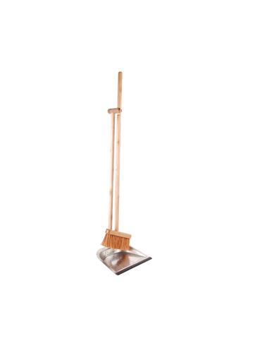 Dustpan + Brush On Stick