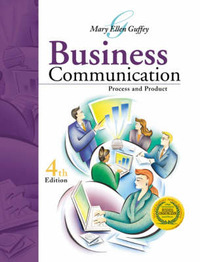 Business Communication: Process and Product by Mary Ellen Guffey image