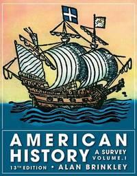 American History, Volume 1 by Alan Brinkley image