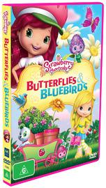 Strawberry Shortcake - Butterflies & Bluebirds on DVD