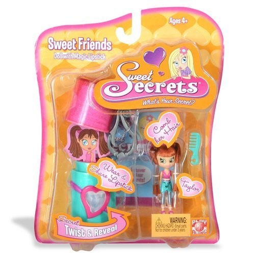 Sweet Secrets Fashion Doll and Lipstick Case: Taylor