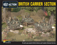 British Army Universal Carrier Section