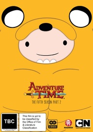 Adventure Time - Season 5 - Part 2 on DVD