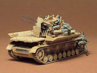 Tamiya 1/35 Flakpanzer Mobelwagen - Model Kit image
