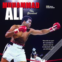Muhammad Ali 2018 Square Wall Calendar by Inc Browntrout Publishers