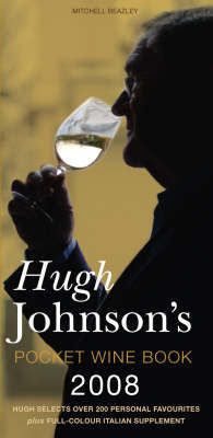 Hugh Johnson's Pocket Wine Book 2008 by Hugh Johnson image