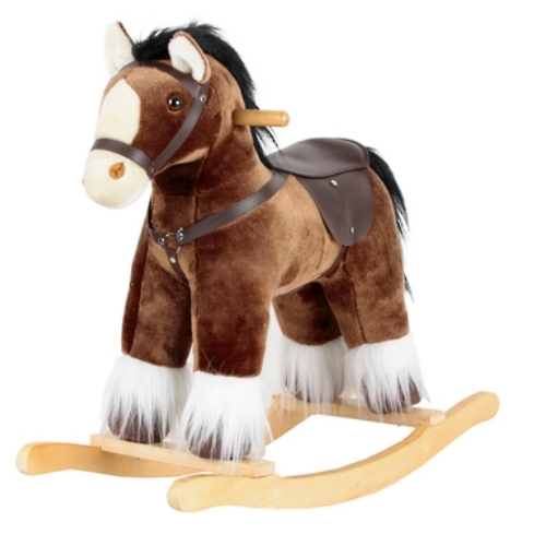 Clydesdale Rocking Horse image