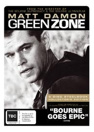 Green Zone - SE: 2 Disc Steelbook on DVD
