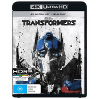 Transformers on UHD Blu-ray
