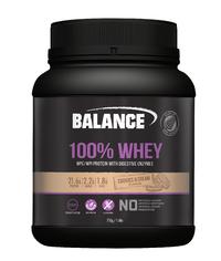 Balance: 100% Whey - Cookies & Cream (750g)