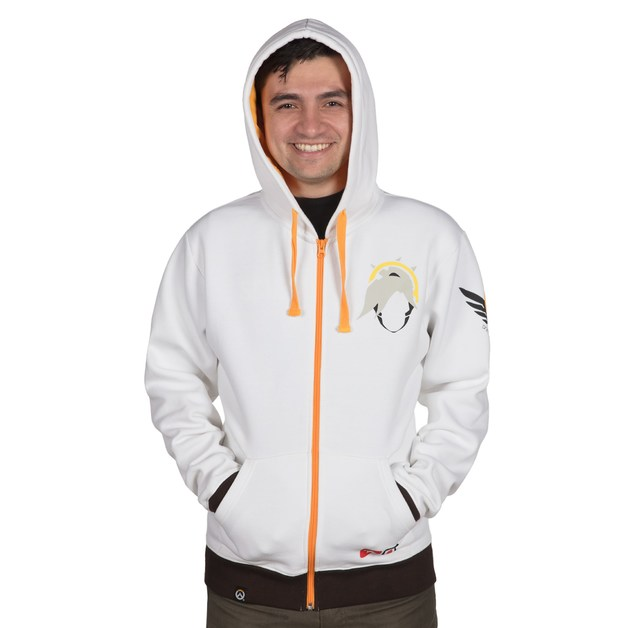 Overwatch Ultimate Mercy Zip-Up Hoodie (XL)