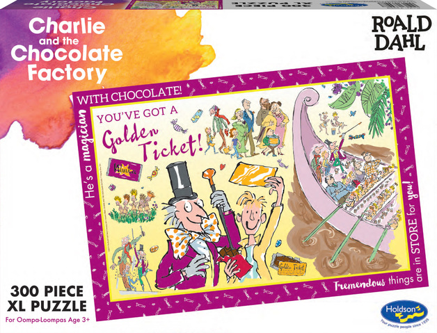 Roald Dahl: Themed Jigsaw Puzzle - Charlie & The Choc Factory