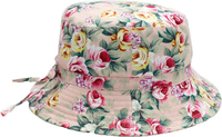 Banz Carewear: Bucket Sunhat - Vintage Rose (4-6 years)