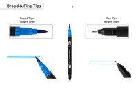 Essentials For You: Dual Tip Markers (60 Piece Set)
