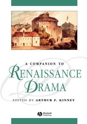 A Companion to Renaissance Drama image