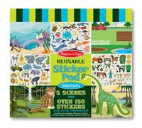 Melissa & Doug: Habitats Reusable Sticker Pad
