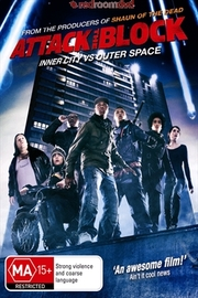 Attack the Block on DVD