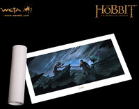 The Hobbit Art Print by Weta - Riddles in the Dark