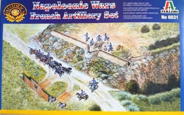 Italeri French Artillery Set (Napoleonic Wars) 1:72 Model Kit