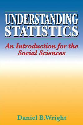 Understanding Statistics by Daniel B. Wright image