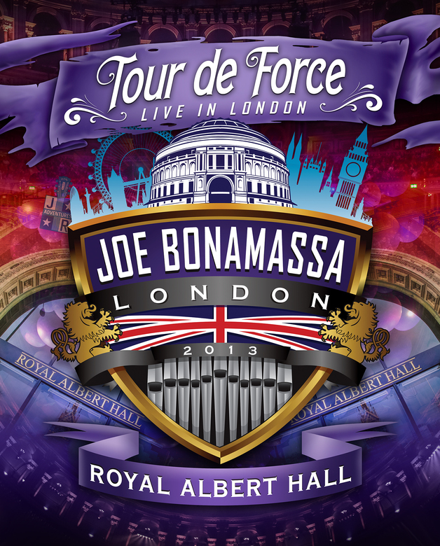 Joe Bonamassa Tour De Force: Live In London - Royal Albert Hall - Acoustic / Electric Night on DVD