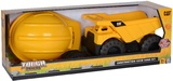CAT Tough Tracks: Construction Crew Sand Set with Hard Hat & Garden Tools - Dump Truck